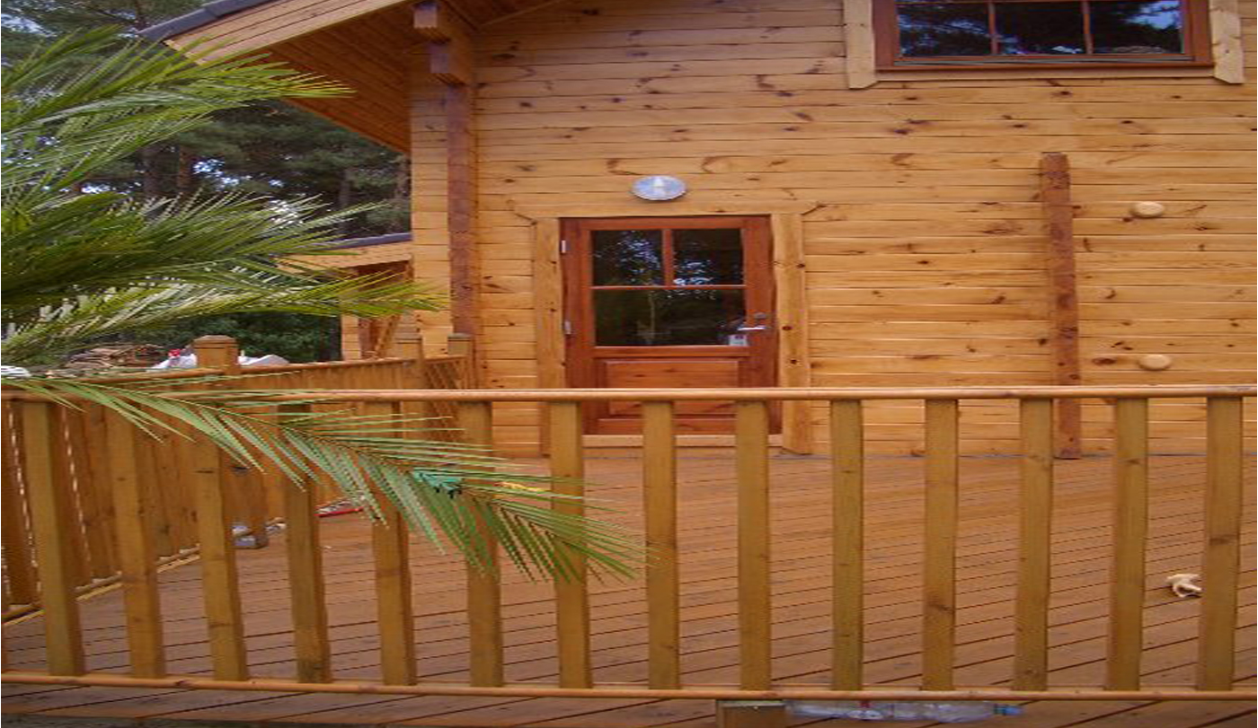 Wonderful image of Finestam Log Cabin with #A26029 color and 1400x811 pixels