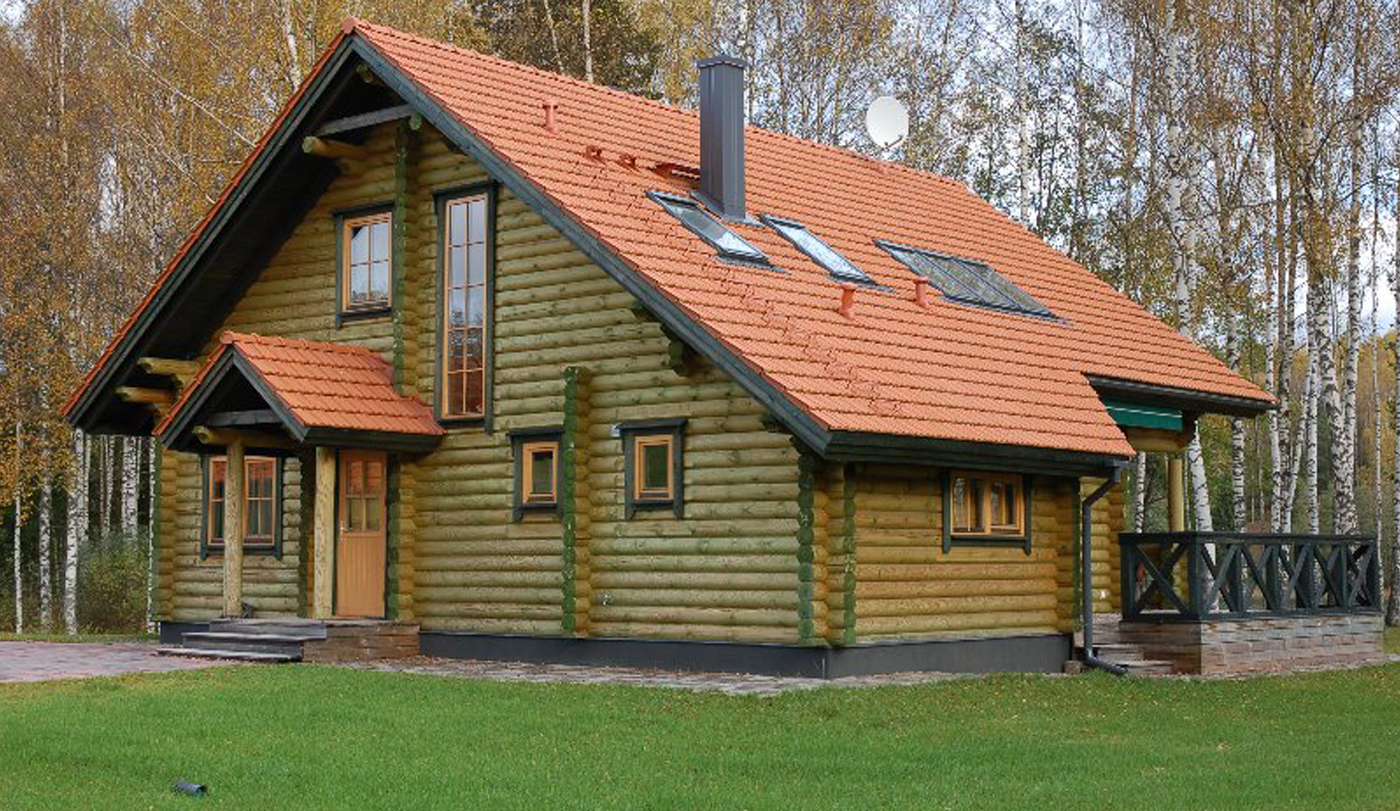 Log Home Imbi 2 Finestam Log Cabins Uk