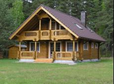 2 bedrooms log cabin